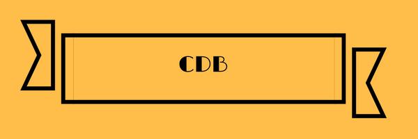 tributação cdb