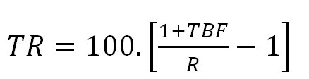 formulas tr3